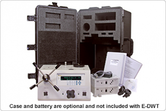 E-DWT-H with case and battery. Note: Case and battery are optional and not inclu