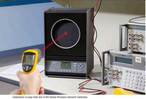 Infrared Temperature Calibration Example with the Fluke 4180