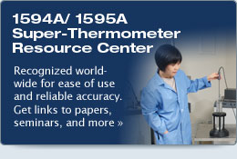1594A/1595A Super-Thermometer Resource Center - Fluke thermometer
