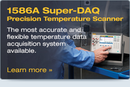 1586A Super-DAQ Precision Temperature Scanner