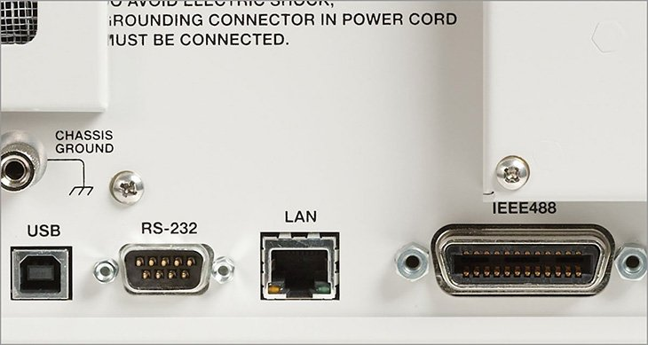USB bus and ethernet port