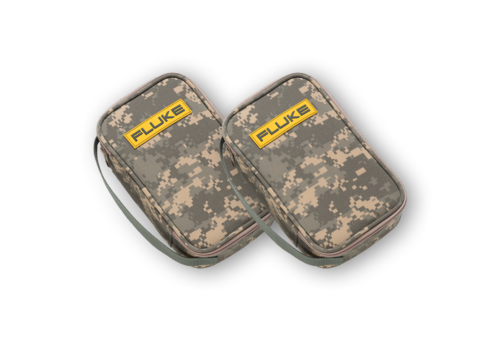 2 - Fluke Camo-C25 Camouflage Carrying Cases