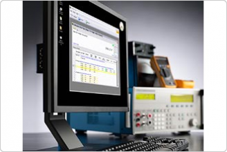 Multi-Product Calibrator Software image on computer monitor