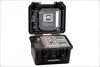 9009 Industrial Dual-Block Thermometer Calibrator (black case)