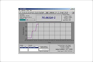 Temperature Sensor Calibration Software