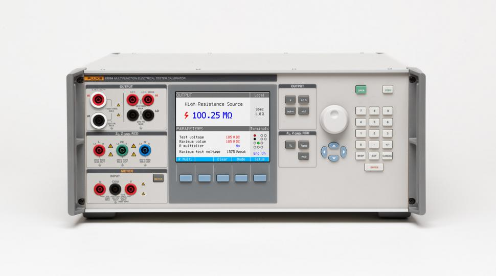 Types Of Electrical Test Equipment : A multifunction electrical calibrator dc