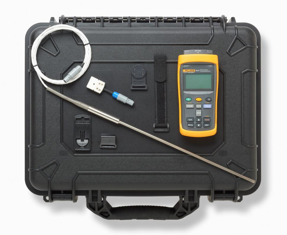 Fluke Digital Temperature Indicator : Reference thermometers by fluke calibration models