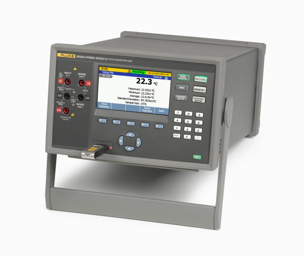 Data Acquisition For Testing Strain : A hydra series iii data acquisition system digital