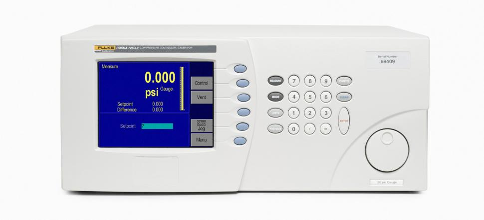 7250LP Low Pressure Controller/Calibrator