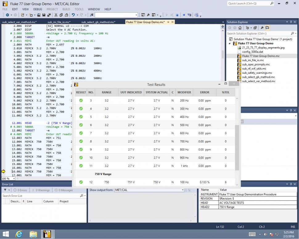 Calibration Management Software Met Cal Fluke