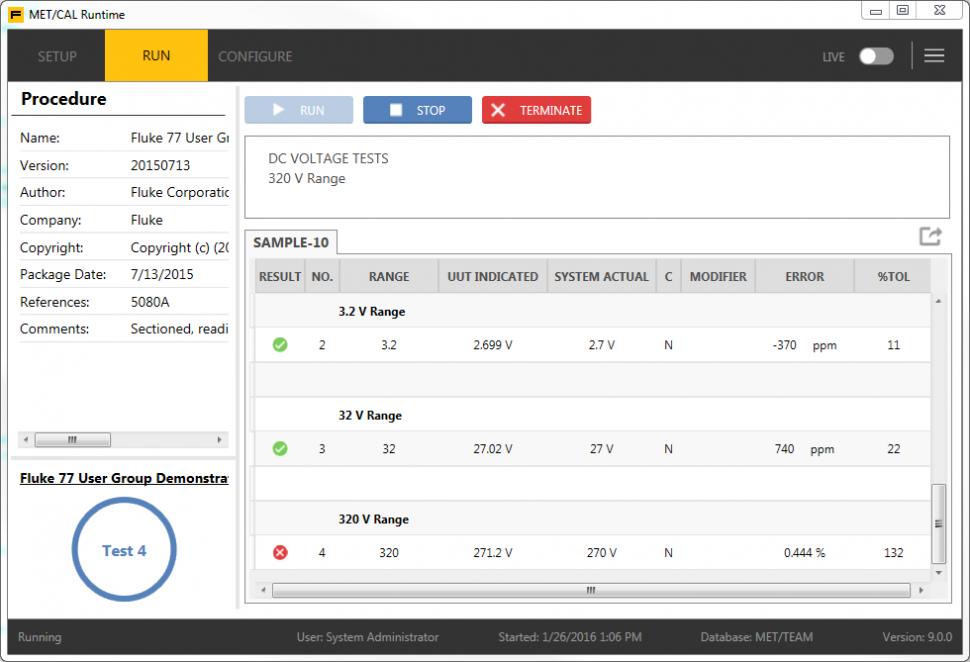 Calibration Management Software | MET/CAL | Fluke