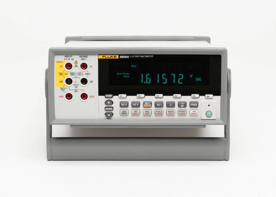 Fluke 8808A | 5 5 Digit Multimeter | Table Top Multimeter