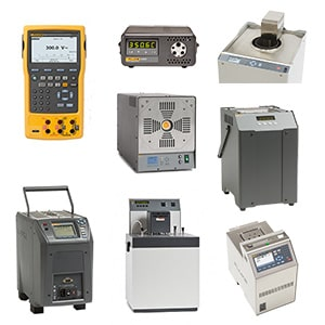 A Variety of Thermocouple Calibrators